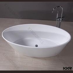 Composite stone bathtub, small european bathtub