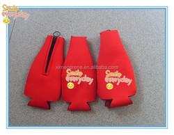 1 Bottle Wine zipper Bag Insulating Neoprene for promotion gifts
