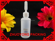 Attention!!! small glue bottle 3ml black plastic pe bottle for glue use