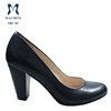 8.3cm comfort thick heel plus size lady shoes size 45 46