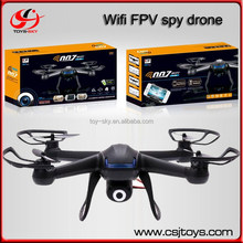 Newest DM007 Upgrade 2.4G 6axis Gyro iPhone/iPad/Android Wifi Control FPV Spy Drone rc quadrocopter with 2.0MPX Camera