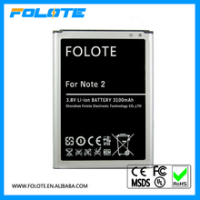 Replacement 3100 mAh 3.8V Battery For Samsung Galaxy Note 2 N7100 N7105