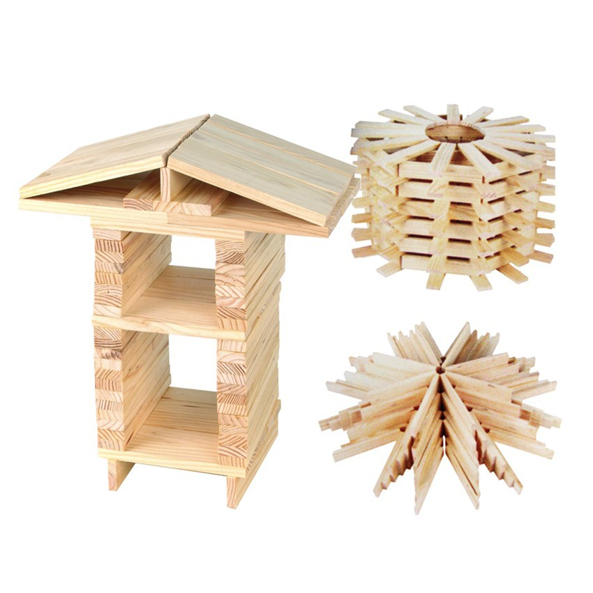 Toy Large Wooden Blocks 6