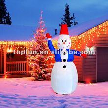 inflatable christmas decoration snowman