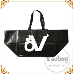 wholesale laminated reusable cheap pp woven folding shopping bag