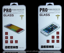 High quality HD clear tempered film glass screen protector for ipad mini 4