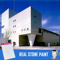 CRYSTONE A-001 natural stone paint/coatiing use spray for exterior wall