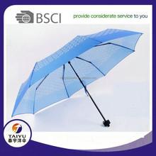 21inch three folding umbrella manufacturer china manual open