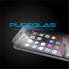 Pureglas for iphone 6 tempered glass,for iphone 6 glass screen protector Protector de pantalla con vidrio templado