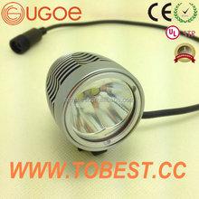Ugoe 2000 lúmenes batería establecen las luces barato mini reflectores de bicicletas