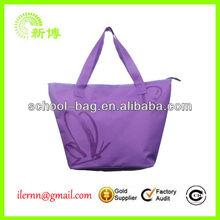 ladies portable reusable shopping bag