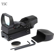 Red & Green Dot 4 Reticle Rifle Scope for Hunting
