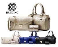 Hot sale 3 pcs in 1 set flower printed handbags for women fashion ladies handbag boston china wholesale women bags
