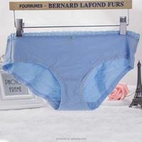 wholesale Comfortable soft lady care coton Panty for fat women