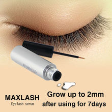 MAXLASH Natural Eyelash Growth Serum (homemade eyelash glue)