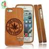 Customized Phone Cover Wooden 3D Craving Cell Phone Case For Iphone 6.