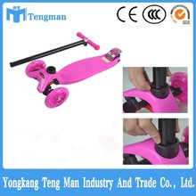 2015 hot sale four wheel micro kick scooter , three wheels scooter for kids