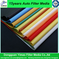 Oem supply auto air filter materials used car parts
