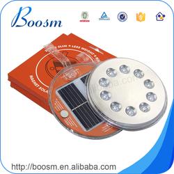 Eco-Friendly 10 led solar lantern,customized multi color solar camping lantern,rechargeable lantern solar