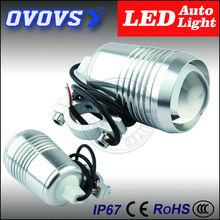 OVOVS cheap hot sale flash moto parts 12v 12w led headlight for mototcycle