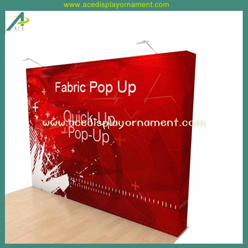 Fabric Exhibition Stand Quotes : Fabric pop up banner display stand buy