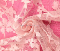 The best seller polyester spandex floral lace fabric stretch lace fabric for garments