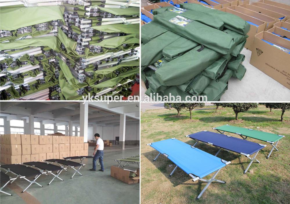 Berço Dobrável cama de acampamento militar do exército ao ar livre 600D com bolsa de transporte