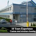 el diseño de construcción prefabricados estructura ligera de acero edificio de fabricación