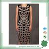 Fancy design 90% rayon bandage dress O neck bandage dress wholesale