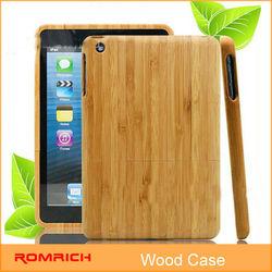 eco-friendly bamboo case for ipad mini wood case