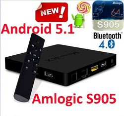 2015 Hot selling MINI MX Android TV Box powered by 64bit AML S905 quad core chipset Kodi 15.2 Stream media box