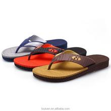 663 LOULUEN New Design Wearproof EVA Cheap Wholesale Flip Flops For Man