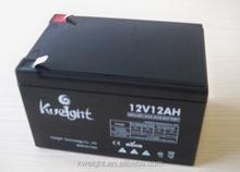 Best quality lead acid battery 12v 12 ah deep cycle battery