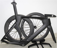 2015 Chinese cheap carbon fiber TT bike frame, carbon road TT bicycle frame