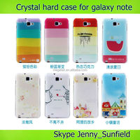 Mobile phone case phone accessories hard back Case cover for Samsung Galaxy Note i9220