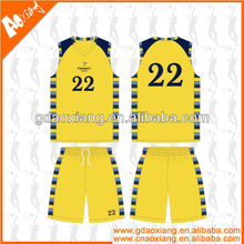 A-league quality Sublimation Basketball jersey