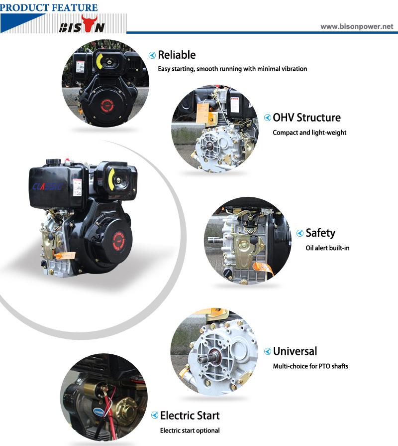 10hp diesel engine BSD186FA 8