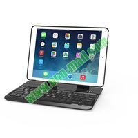 Skillful Manufacture Multi-function keyboard with 360 rotating aluminum plastic case for iPad Air