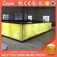 Hot Sales restaurant bar counters for sale / bar counters display tables / restaurant bar counter design