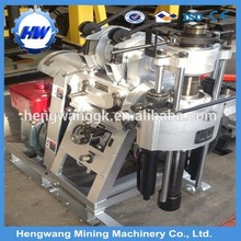 Light weight 350 kgs HW-130T aluminium deep mini water well drill rig for sale