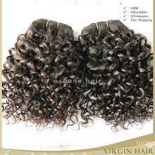 China wholesale natural hotsale raw unprocessed peruvian jerry curl hair
