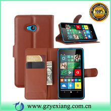 For Nokia Lumia 640 Flip Cover, Leather Wallet Case For Lumia 640