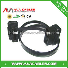 extension obd cable 16p obd cable male to female