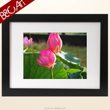 Home wall decorative newest vivid lotus flower oil painting