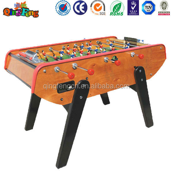Qingfeng Good Quality But Cheap Price Foosball Soccer Table Folding - Foosball table price