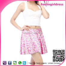 Wholesale Gigital Printing Sexy Tight Mini Skirt