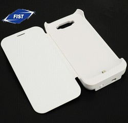 3600 mAh External Backup Battery Charger Case with flip cover for Samsung Galaxy Note II/Note2/n7100