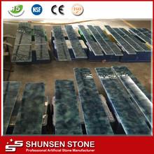Decoración Interior Artificial Jade baldosas de vidrio