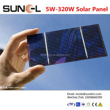 solar cell price lowest 60pcs for pv modules