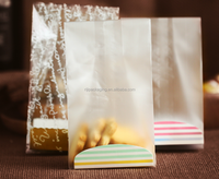 Printed Cellophane gusseted bag with logo for breads